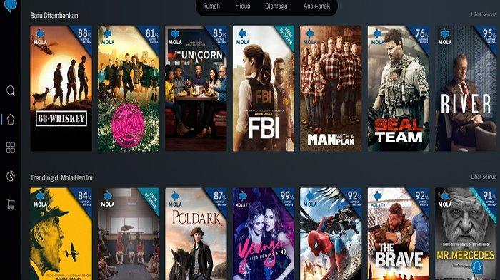 Cara Nonton Film Gratis Mola TV selama PPKM Darurat ! Free Sebulan, Masukkan Kode Promo Mola TV Ini