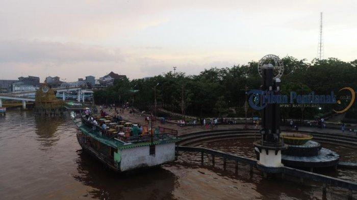 Kapal Wisata Menunggu Penumpang di Taman Alun Kapuas, Dishub Pontianak Imbau Kelengkapan Keselamatan - sejumlah-kapal-wisata-menunggu-pengunjung-di-taman-alun-kapuas04.jpg
