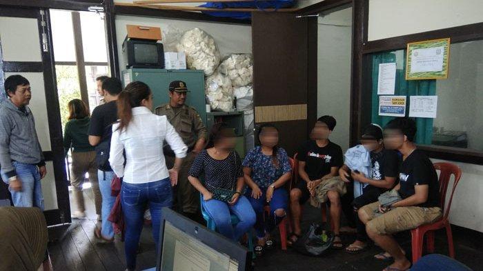 10 Orang Usia Remaja Terjaring Razia Kost, Dibawa ke Pengadilan