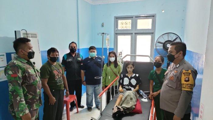 Bhabinkamtibmas Polsek Sekadau Hulu Dampingi Warga Binaannya dalam Perawatan Medis di Rumah Sakit