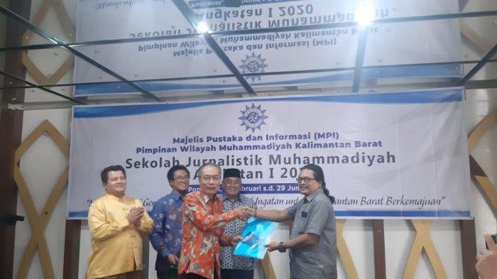 Buka Sekolah JurnalistikMu, Pabali Musa Harap Menjadi Sarana Muhammadiyah Tangkal Hoaks