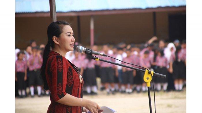 Bupati Landak Dukung Sekolah Ramah Anak di SMP Negeri 1 Ngabang