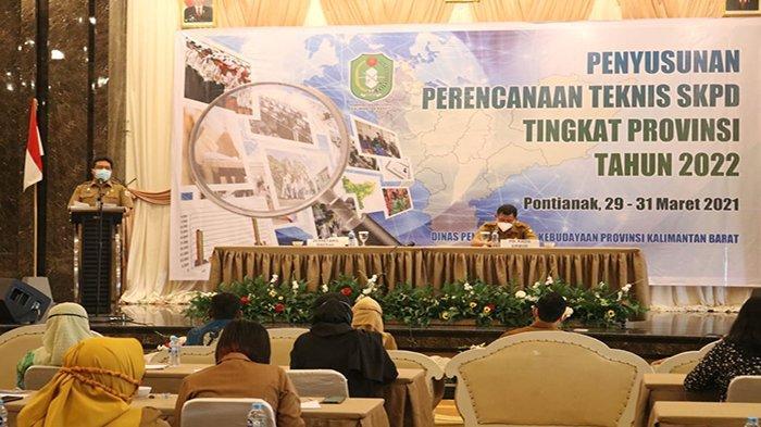 Sekda Kalbar Harap Disdik Provinsi dan Kabupaten Kota Terus Benahi Pelayanan Pendidikan