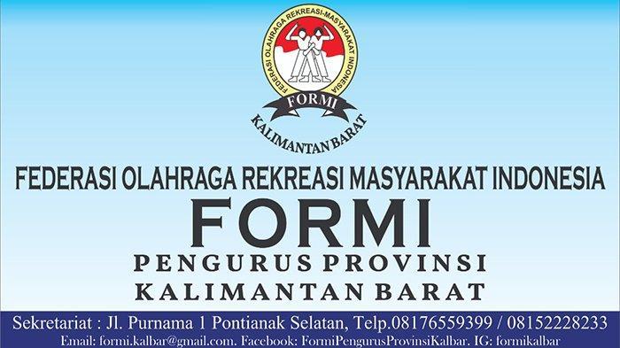 Sejarah Federasi Olahraga Rekreasi Masyarakat Indonesia, Pengembangan Olahraga Rekreasi di Kalbar