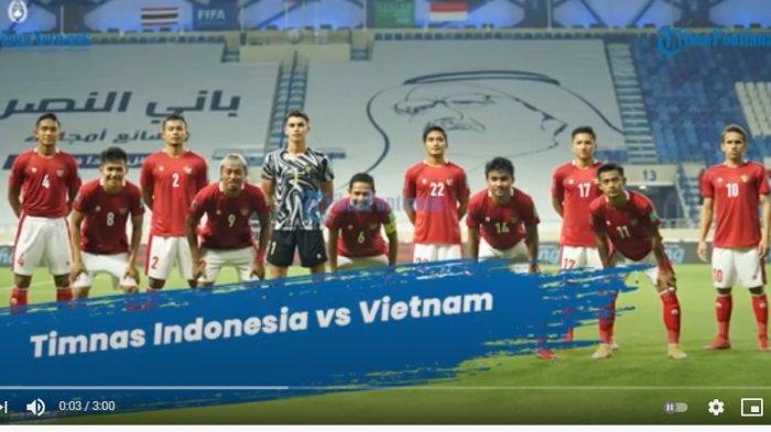 SUSUNAN Pemain Timnas Vs Vietnam Malam Ini 7 Juni 2021 & Prediksi Skor Vietnam Vs Timnas Indonesia