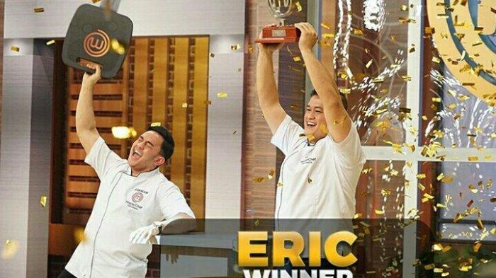 SELAMAT! Eric Juara MasterChef Indonesia Season 6, Firhan Kalah Unggul di Duplicate Dish