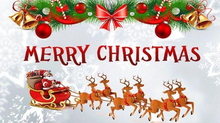 CONTOH Kartu Ucapan Selamat Natal 2020 & Gambar Bergerak GIF   Selamat Natal 2020 & Tahun Baru 2021