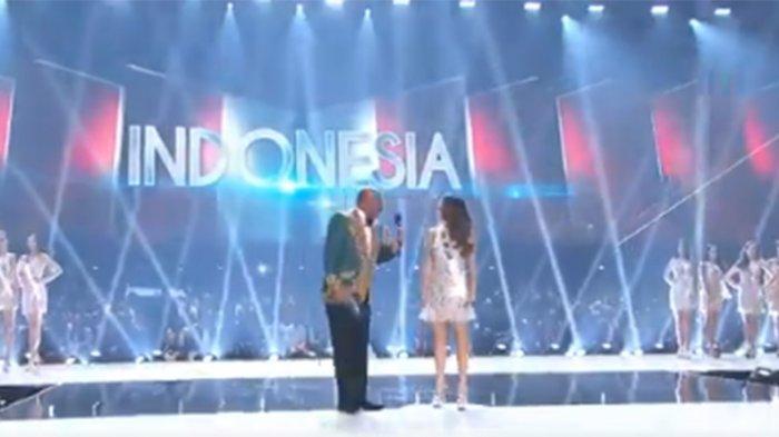 Selamat! Puteri Indonesia Frederika Alexis Cull Lolos ke Top 20 Miss Universe 2019