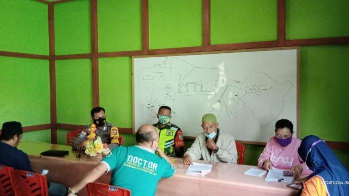 Rapat Pembentukan Posko PPKM, Ini yang Disampaikan Bripka Muchtarudin