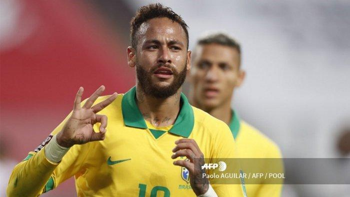 Live Streaming Brazil vs Ekuador di MolaTV Kualifikasi Piala Dunia 2022 Zona Conmebol