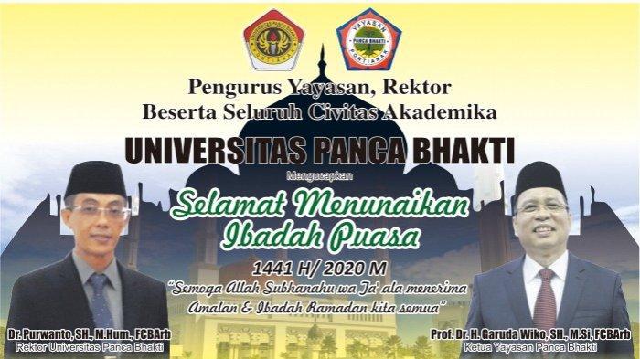 Seluruh Civitas Akademika UPB Ucapkan Selamat Menjalankan Ibadah Puasa Ramadhan 1441 H