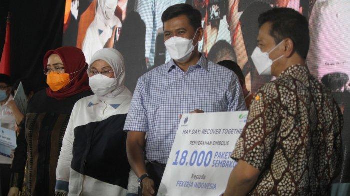 May Day di Era Pandemi, BPJS Ketenagakerjaan Salurkan 18 Ribu Sembako Bagi Pekerja