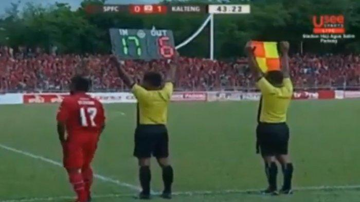 LIVE BOLA Streaming Babak II Semen Padang Vs Kalteng Putra (1-1 HT), Pembalasan di Injury Time