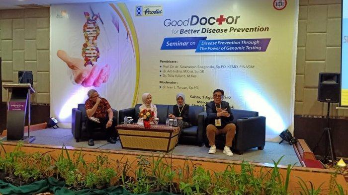 Prodia Gelar Roadshow Seminar Pemeriksaan Genomik untuk Dokter di Pontianak