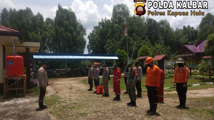 Cegah Karhutla, Kapolsek Semitau Pimpin Langsung Pencarian Titik Api di Desa Entipan