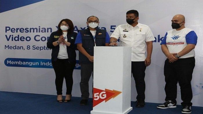 XL Axiata Gelar Sentra Vaksinasi dan Pengenalan Jaringan 5G di Medan