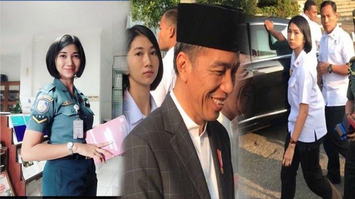 Cantiknya Serda Ambar Dwi Klaudiyah, Anggota Paspampres Jokowi Yang Anak Penjual Sayur