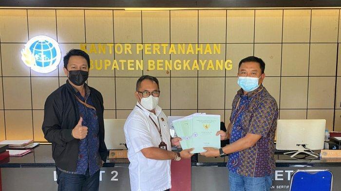 BPN Bengkayang Telah Terbitkan 46 Sertifikat Tanah Aset Proyek Negara
