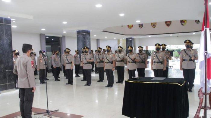 Kapolda Sertijab Pejabat Utama dan 7 Kapolres Jajaran Polda Kalbar, Ini Nama-namanya