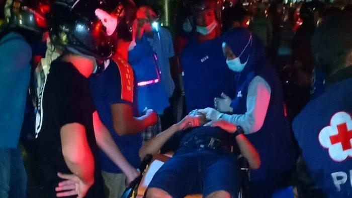BREAKING NEWS- Sejumlah Ruko di Jalan Mahakam Pontianak Terbakar