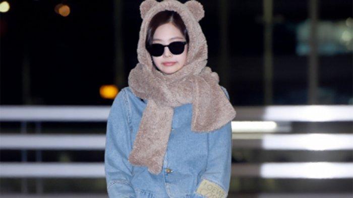 Setelah Lisa dan Jisso, Kini Jennie BLACKPINK Curi Perhatian dengan Fashion Bandara Menggemaskan