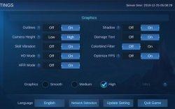 Setingan Terbaru Mobile Legends Anti Nge-Lag dan Nge-Frame 2021 hingga Kompensasi Koneksi Lemot