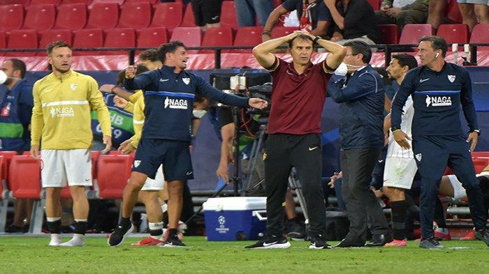 Empat Penalti Warnai Laga Sevilla vs Salzburg, 5 Kartu Kuning dan 1 Kartu Merah Dikeluarkan Wasit