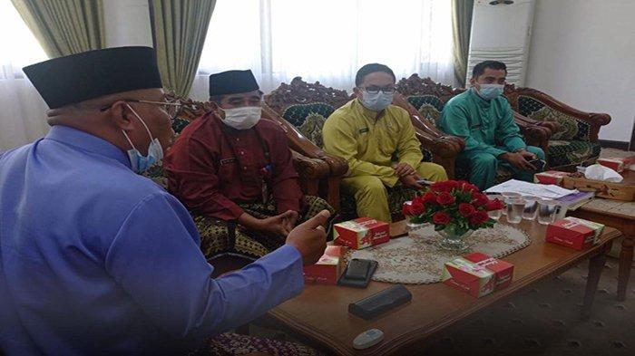 Bahas Tata Kelola Desa, Wakil Bupati Mempawah Terima Audiensi Kepala Dinas Sosial Kabupaten Mempawah
