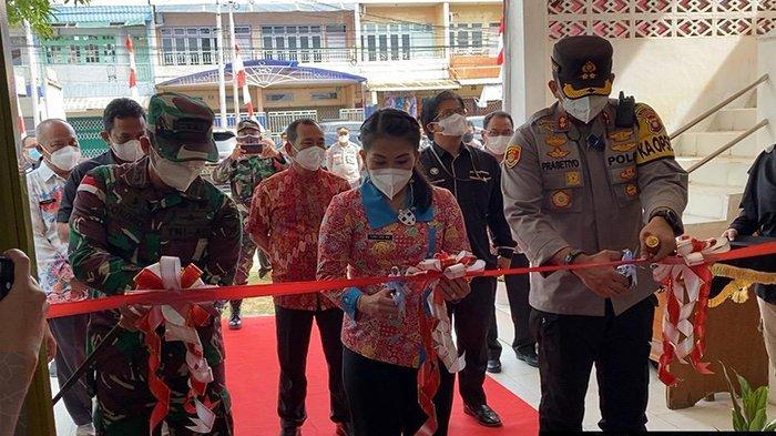 Polres Singkawang Canangkan Kampung Tangguh Anti Narkoba di Kelurahan Pasiran