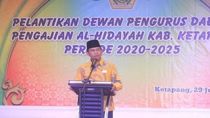 Farhan Hadiri Pelantikan Dewan Pengurus Daerah Pengajian Al-Hidayah