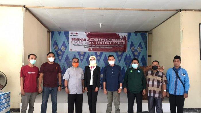 Meski Pandemi, Rasau Jaya Student Forum Laksanakan Musyawarah Besar Perdana