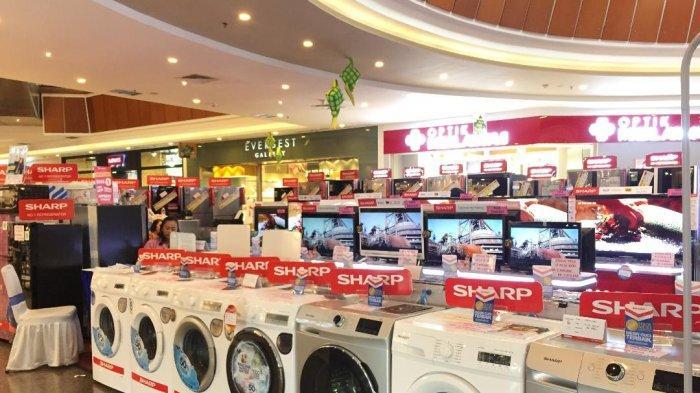 SHARP Bersama CV Kix Gelar Big Sale Peralatan Elektronik di Ayani Megamall Pontianak