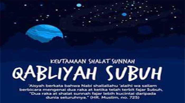 Doa Setelah Sholat Sunnah Fajar serta Doa Niat Sholat Fajar dan Waktu Pelaksanaannya