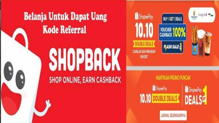 Belanja Apa Saja di ShopBack Pasti Cashback - Momen Shopee 10.10 Lebih Untung Pakai Kode Referal