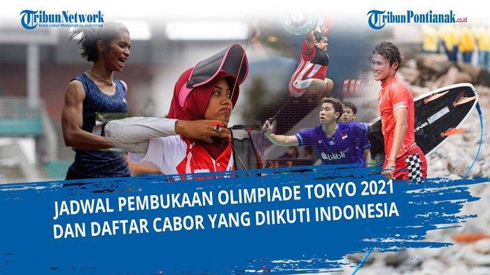 Siaran Langsung Pembukaan Olimpiade Tokyo Lengkap Jam Tayang Live TVRI SCTV Indosiar dan vidio.com