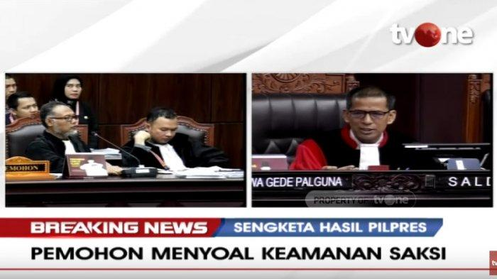 Bambang Widjojanto Mohon Perlindungan Saksi di LPSK, I Dewa Gede Palguna: Jangan Anggap Menyeramkan