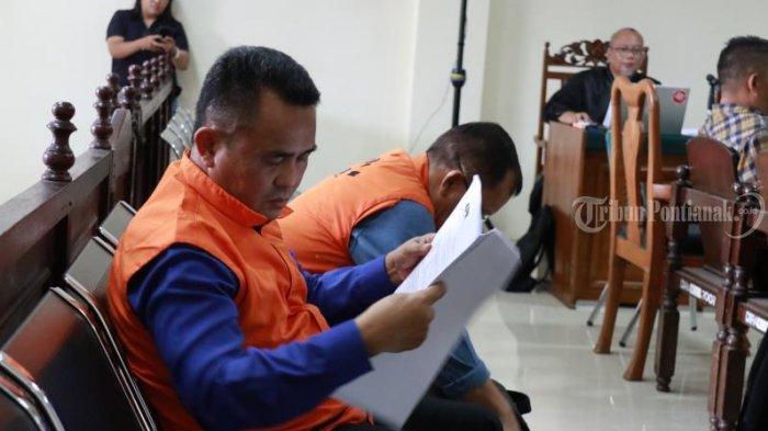 FOTO: Sidang Lanjutan Kasus Suryadman Gidot dan Mantan Kadis PUPR Kabupaten Bengkayang Aleksius - sidang-lanjutan-gidot-5.jpg