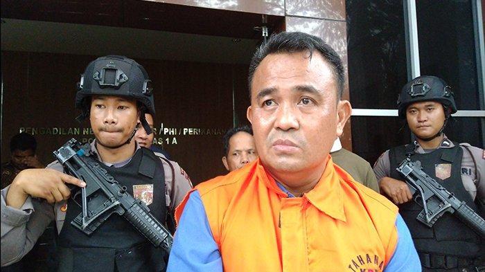 Gelar Sidang via Telekonfrensi, Bupati Bengkayang Non Aktif Dituntut 6 Tahun Penjara