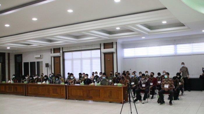 Sidang Akhir Penetapan Kelulusan Bintara dan Tamtama Polri Polda Kalbar, 531 Orang Dinyatakan Lulus
