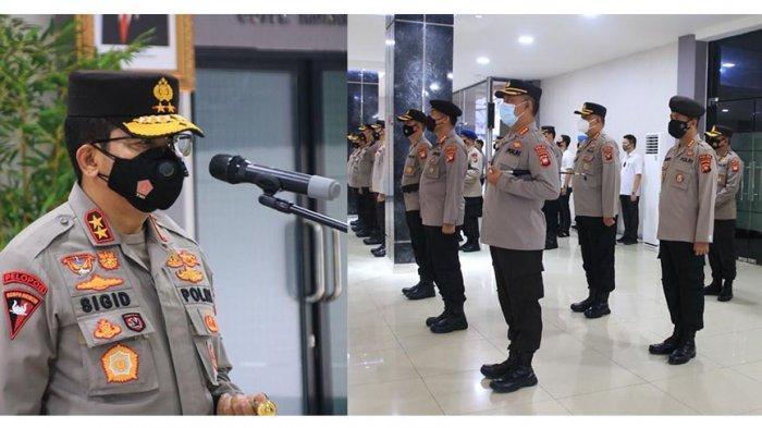 Kapolda Kalbar Mutasi 40 Perwira Petama dan 11 Perwira Menengah