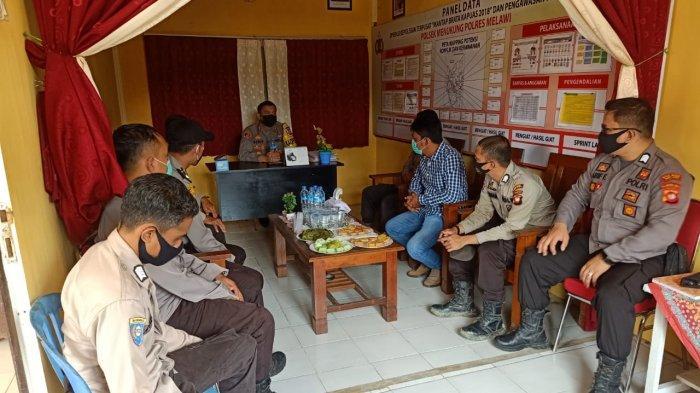 Kunjungan Kerja ke Polsek Menukung, Kapolres: Berikan Pelayanan yang Terbaik pada Masyarakat