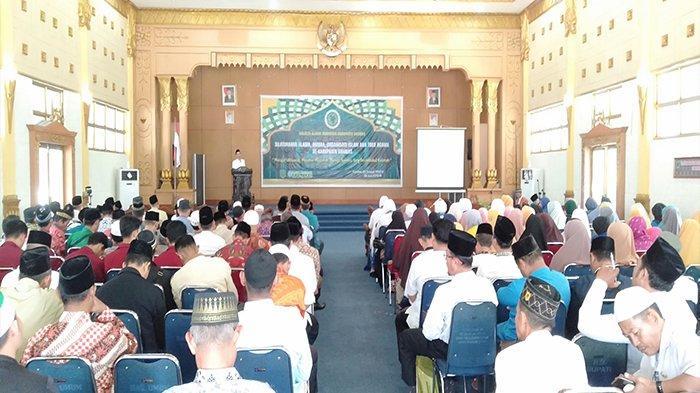 MUI Kabupaten Sambas Gelar Kegiatan Silaturahmi Ulama, Umara, dan Ormas Islam