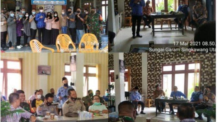 BNN Kota Singkawang Gelar Silaturahmi dengan Relawan Anti Narkoba di Kelurahan Sungai Garam Hilir