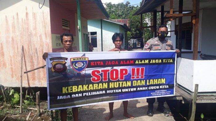 Kanit Binmas Polsek Simpang Hulu Polres Ketapang, Aiptu Sunarso, telah menyambangi warga Desa Sekucing Labai, Kecamatan Simpang Hulu, Kabupaten Ketapang, Selasa 27 April 2021.
