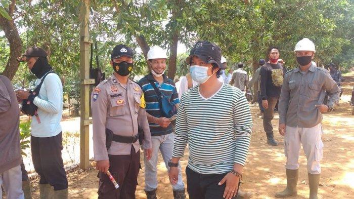 Gelar KRYD, Bhabinkamtibmas Polsek Simpang Dua Ajak Warga Disiplin Protokol Kesehatan