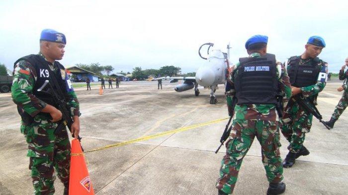 FOTO: Detik-detik TNI AU Turunkan Paksa 1 Unit Pesawat Tempur Asing di Lanud Supadio saat Simulasi - simulasi7.jpg
