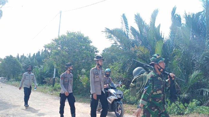 Sinergitas TNI-POLRI Laksanakan Kegiatan Hanmars