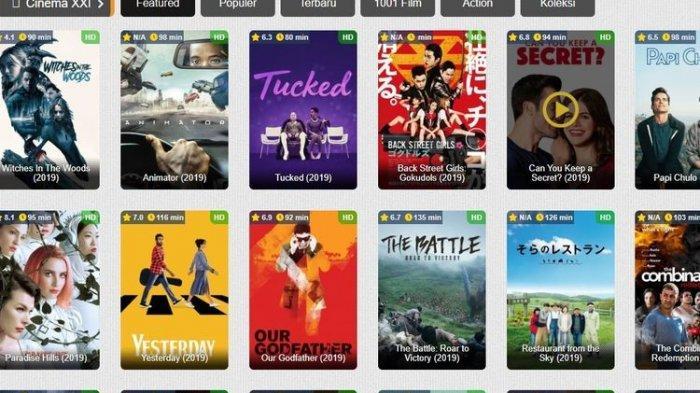 Streaming Film Legal Ini Bisa Dipilih Setelah IndoXXI Resmi Tutup per 1 Januari 2020