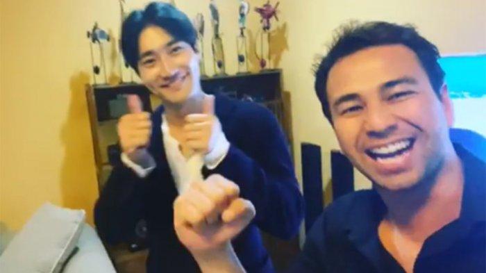 Siwon Super Junior Mendadak Muncul di Kediaman Raffi Ahmad dan Nagita Slavina, Sukses Bikin Heboh