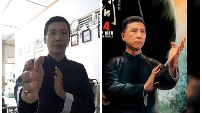 VIRAL! Pria Asal Singkawang Disebut Mirip Pemain FIlm IP MAN Donnie Yen hingga Ditawari Akting